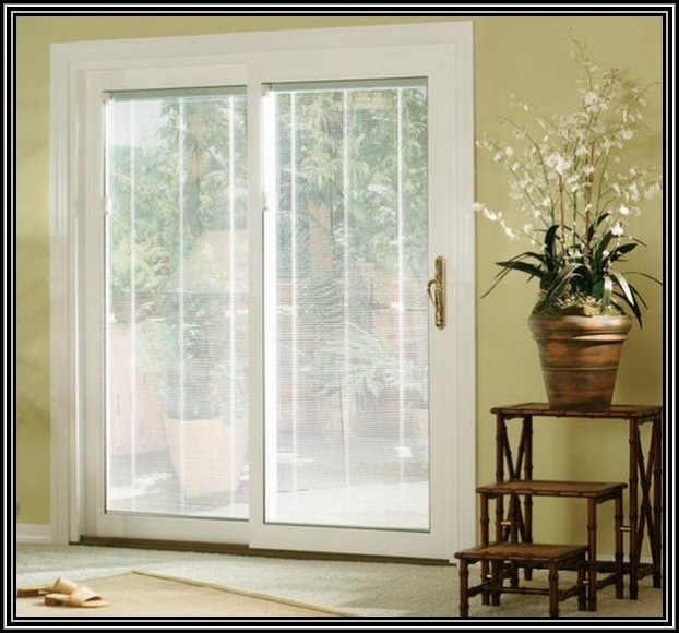 Sliding French Doors With Built In Blinds