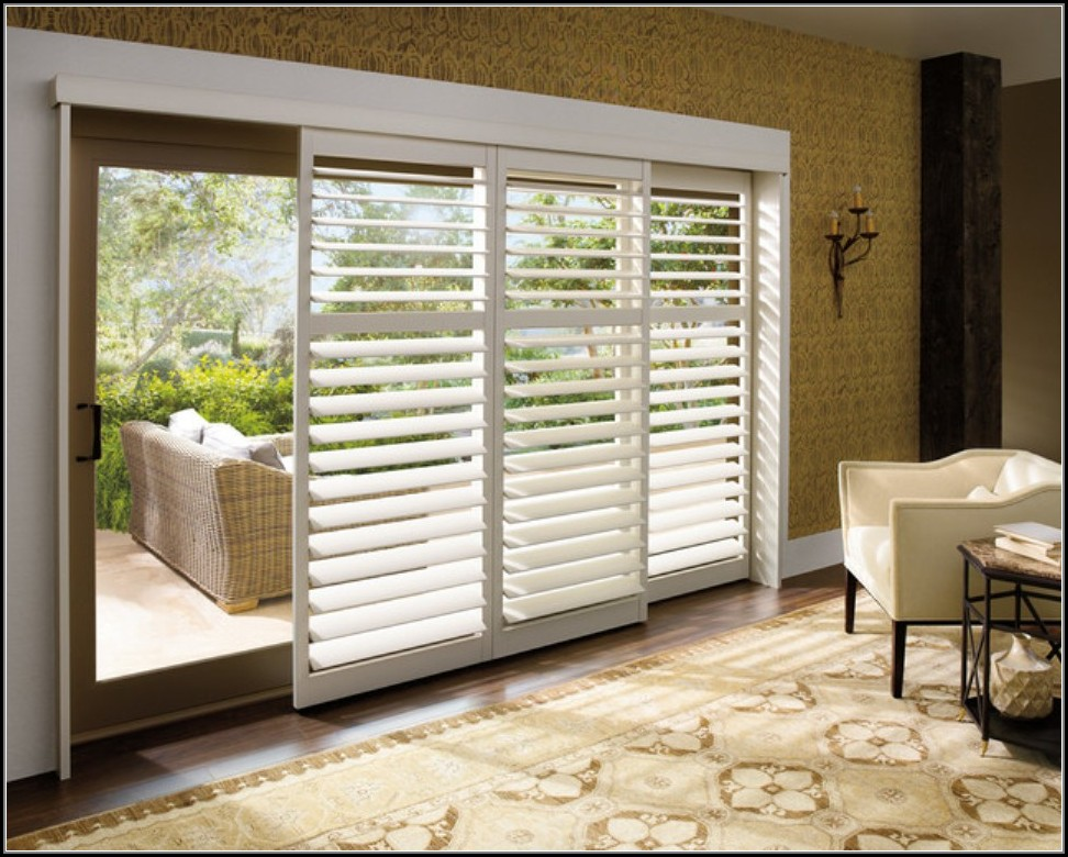 Sliding Glass Door Blinds Home Depot