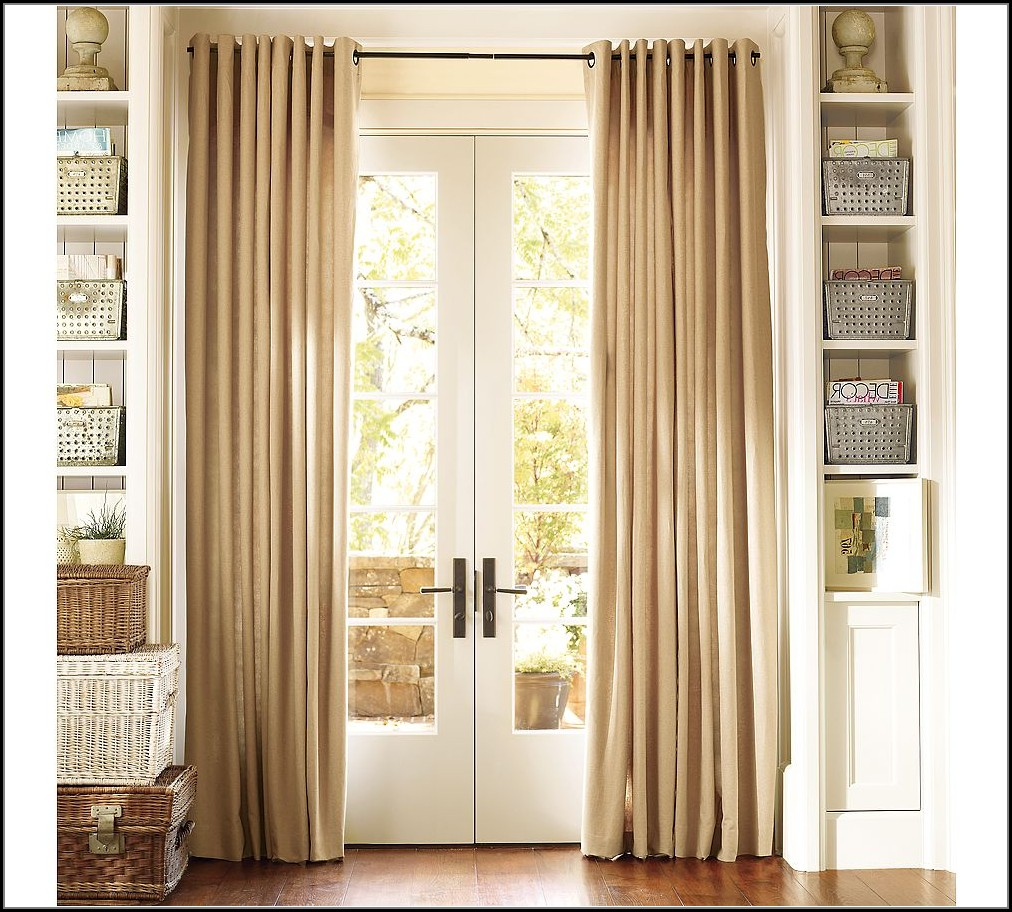 Sliding Glass Door Curtains Pinterest