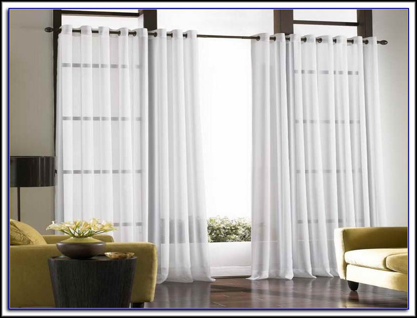 Sliding Patio Door Curtain Size