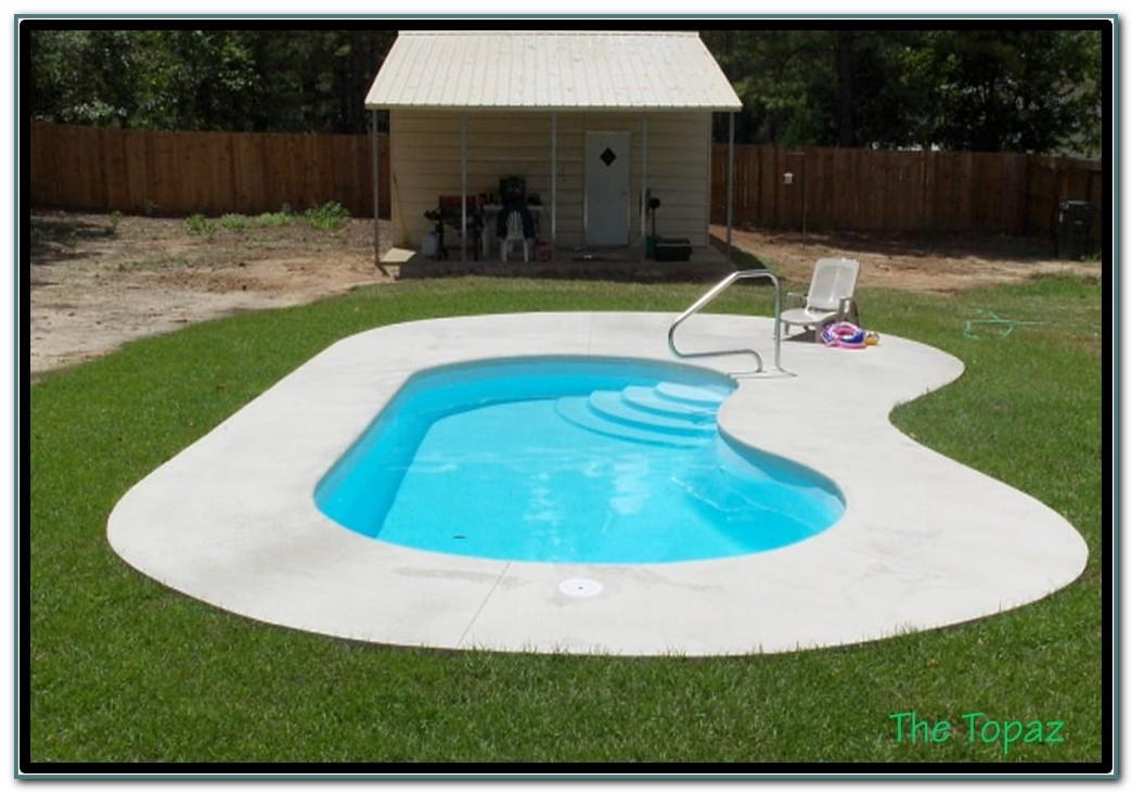 Small Inground Fiberglass Pools