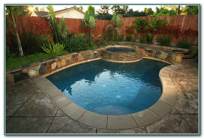 Small Inground Swimming Pools Design