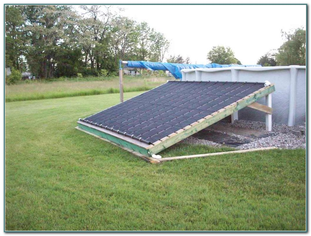 Solar Heater For Pool Diy