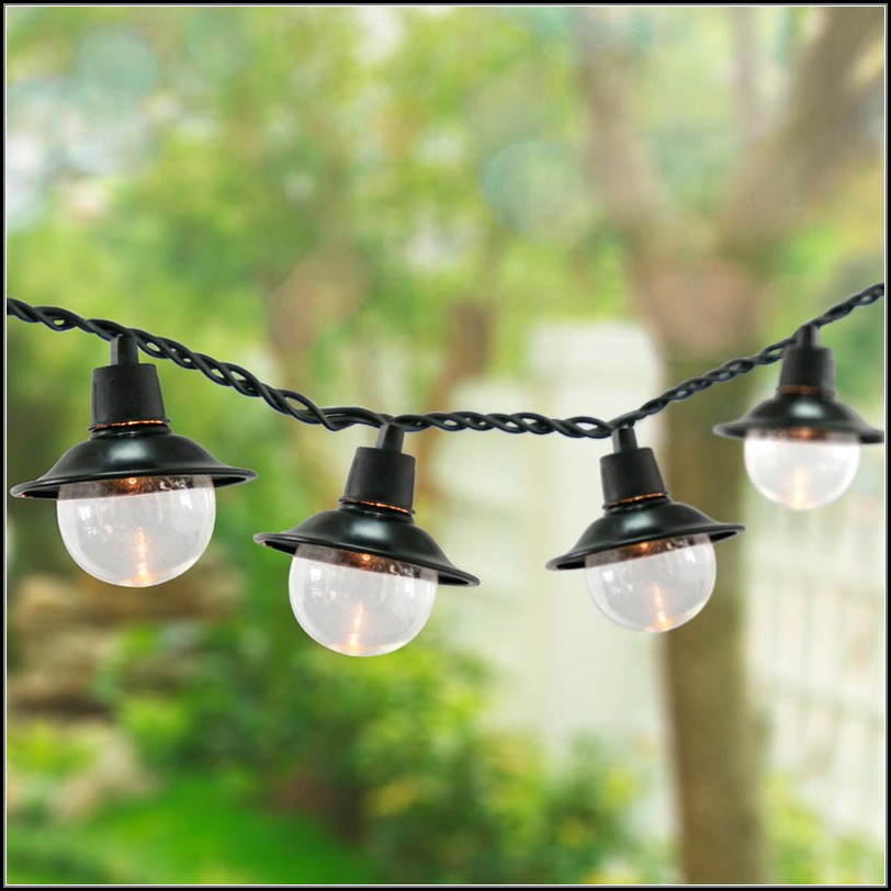 Solar Patio String Lights Home Depot