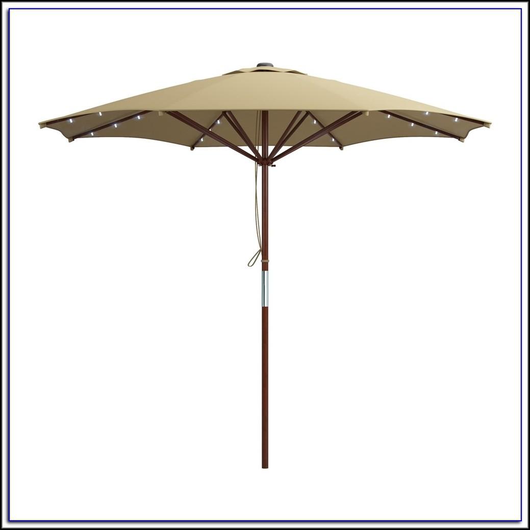 Solar Patio Umbrella Light Kit
