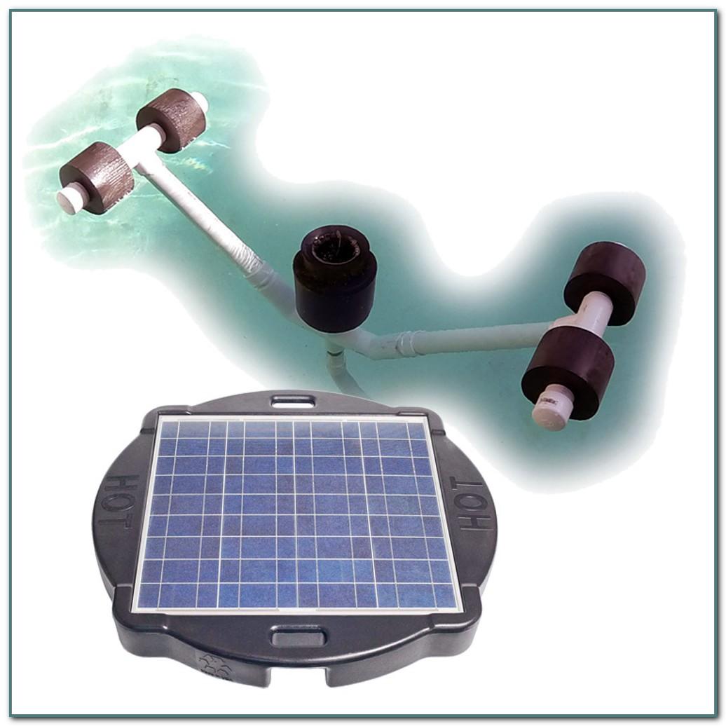 Solar Powered Floating Pool Skimmer
