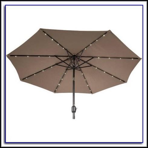 Solar Powered Garden Umbrellas