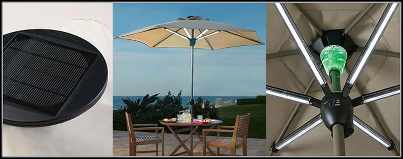 Solar Powered Patio Umbrella
