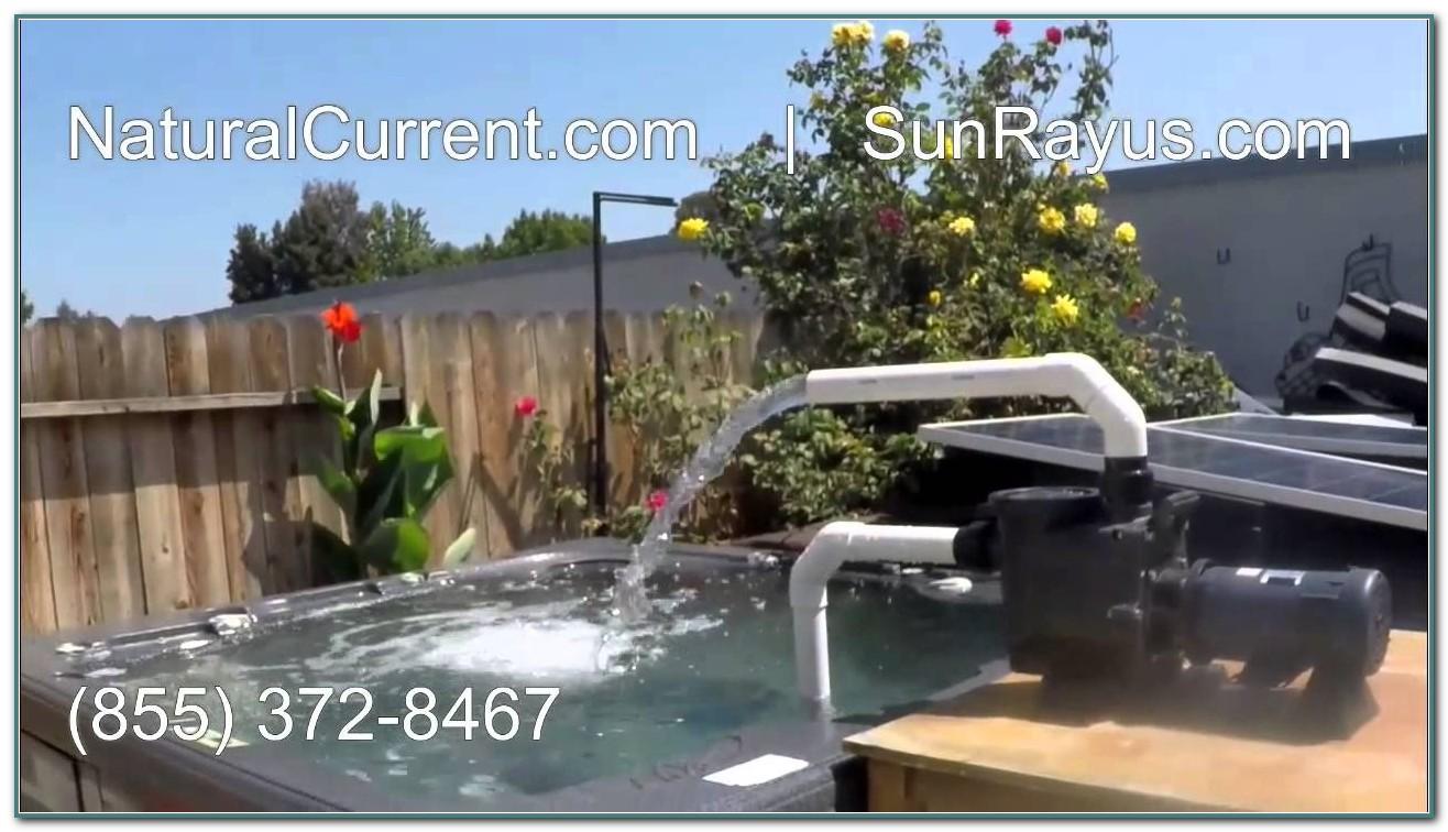 Solar Powered Pool Pump Diy