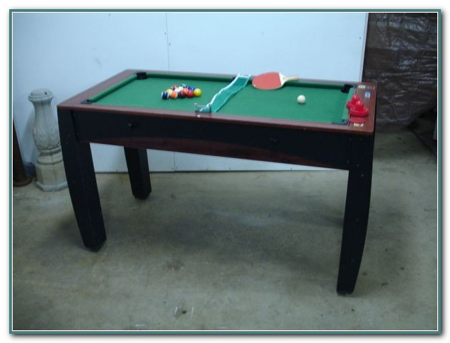 Sportcraft Pool Table Ping Pong Table
