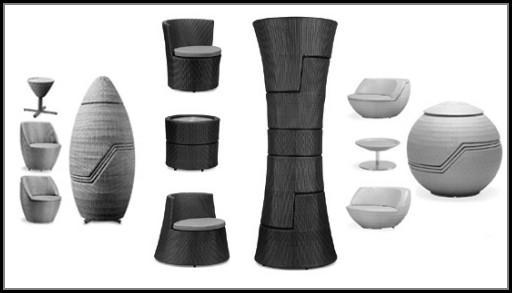 Stackable Patio Furniture Obelisk