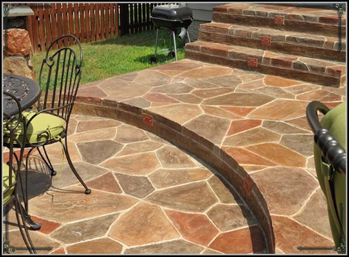 Staining Concrete Patio Blocks