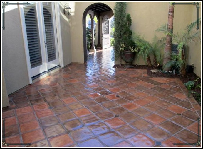 Staining Concrete Patio Pavers