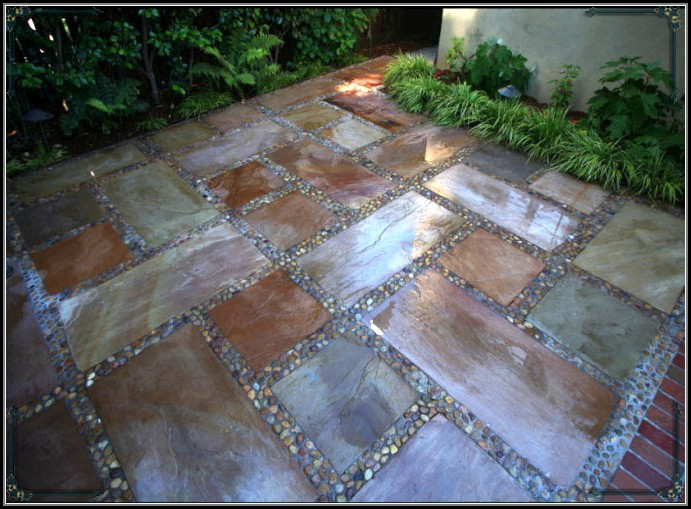 Staining Concrete Patio Stones