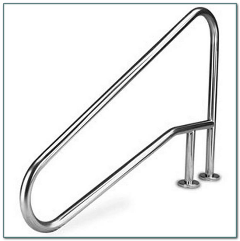 Stainless Steel Pool Ladder Deck Flange