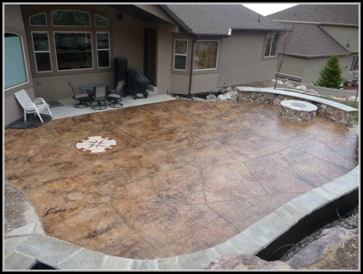 Stamped Concrete Patio Images