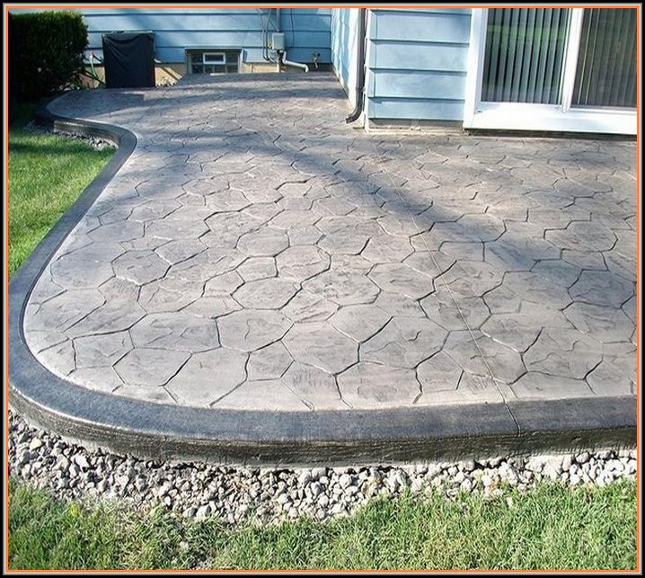 Stamped Concrete Patio Indianapolis