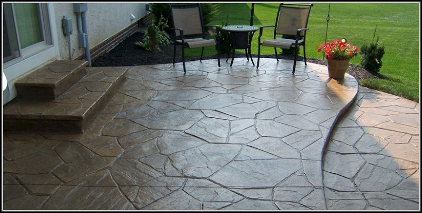 Stamped Concrete Patios Columbus Ohio
