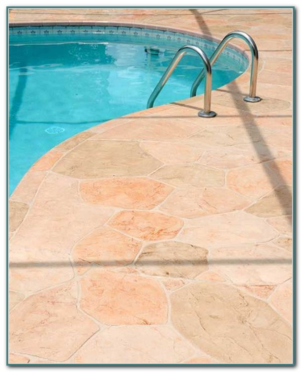 Stamped Concrete Pool Deck Images