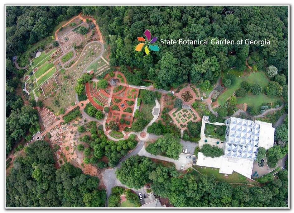 State Botanical Garden Of Georgia Map