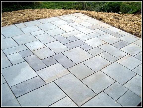 Stone Paver Patio Patterns
