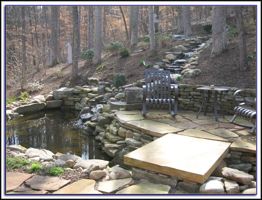 Stone Water Features For Patios