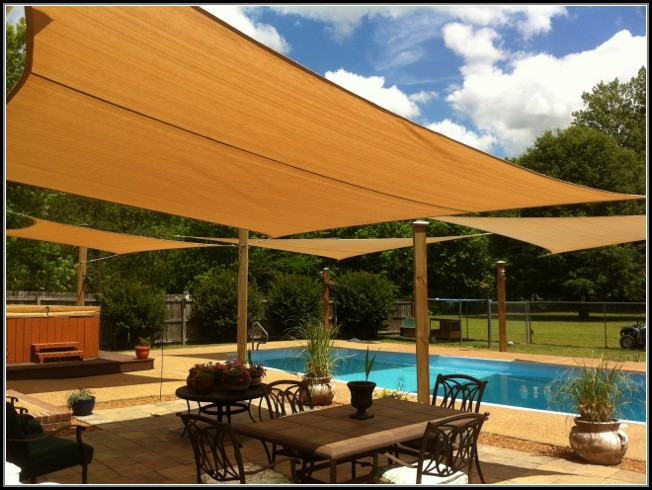 Sun Shade Sails For Patios