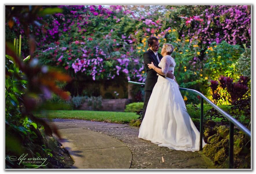 Sunken Gardens St Petersburg Wedding