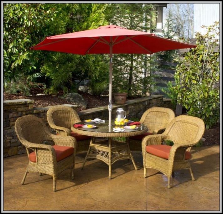Target Patio Set With Umbrella