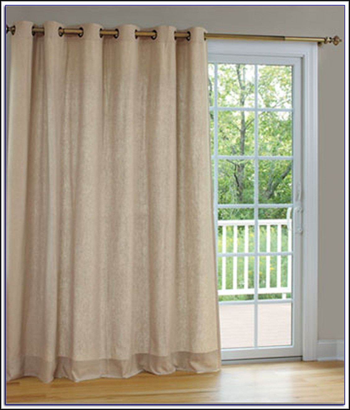 Thermal Grommet Patio Door Curtains