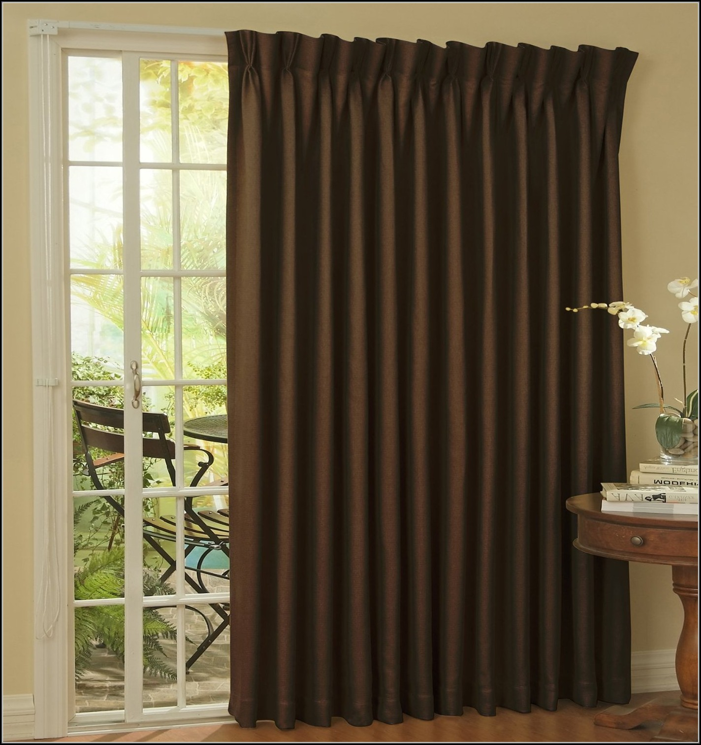 Thermal Patio Door Curtain Panel