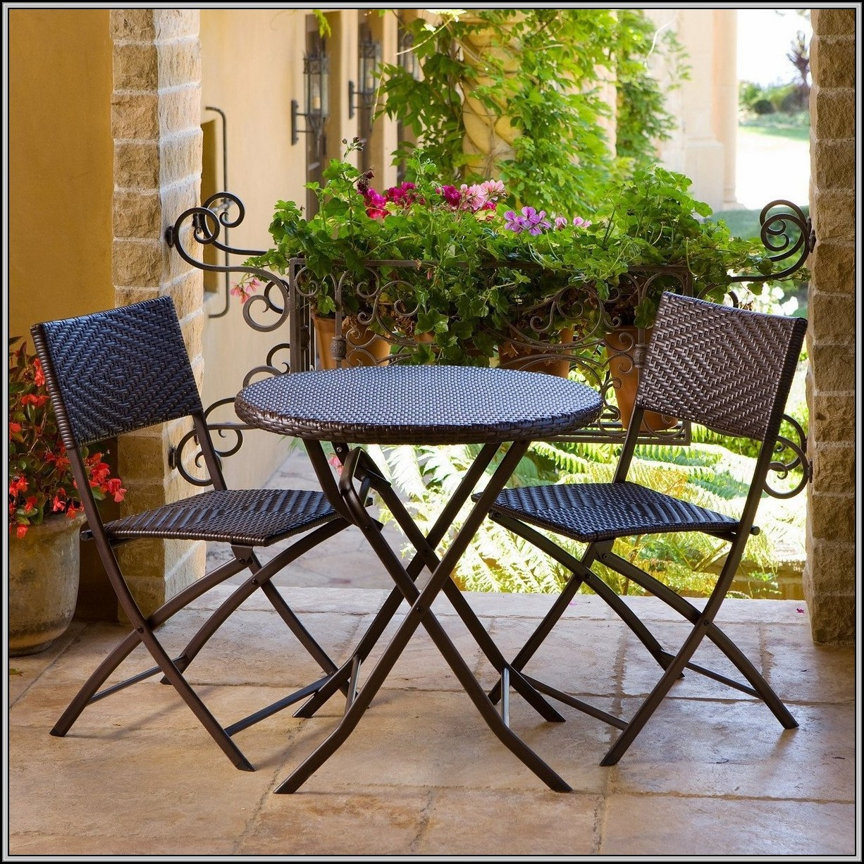 Three Piece Bistro Patio Set