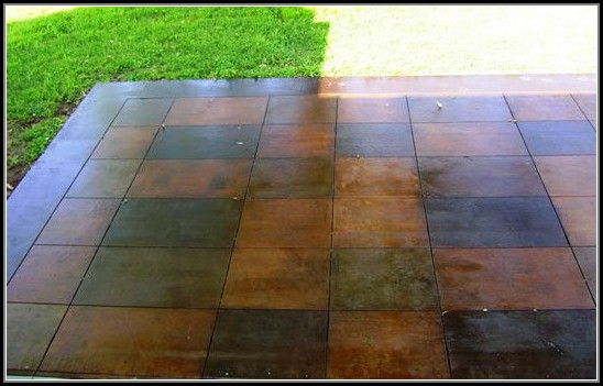 Tile Over Existing Concrete Patio