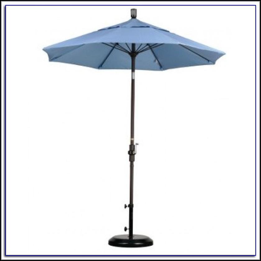 Tilt Patio Umbrella With Base