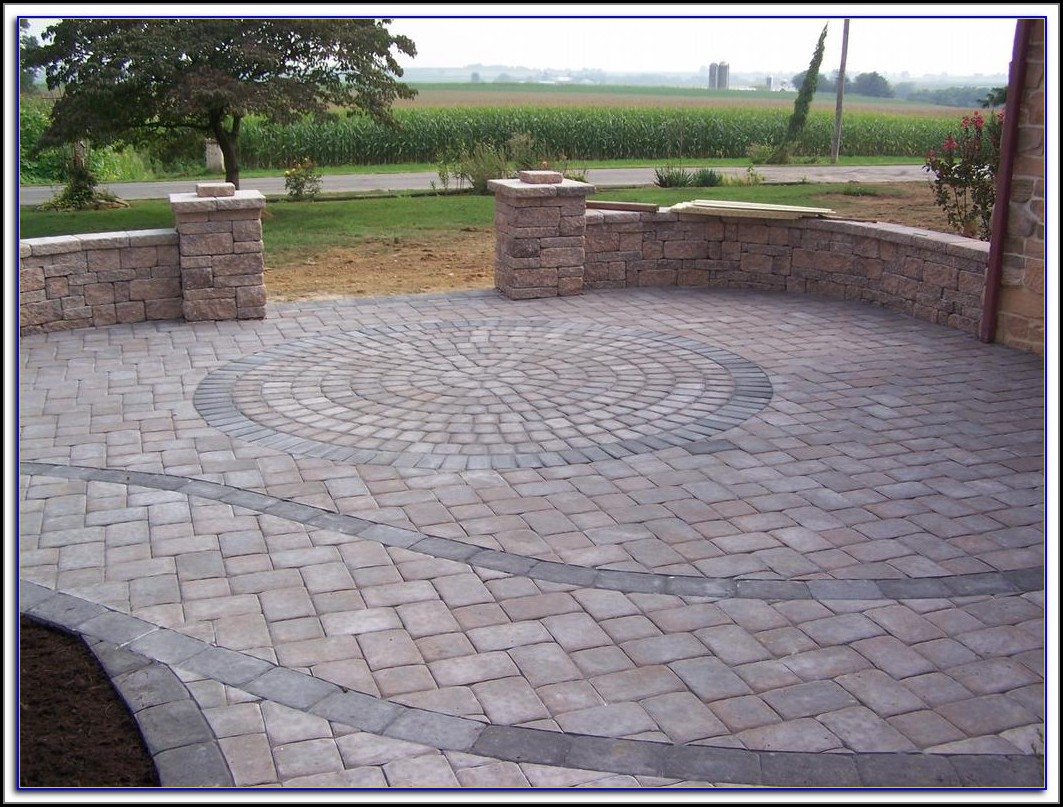 Travertine Paver Patio Pictures