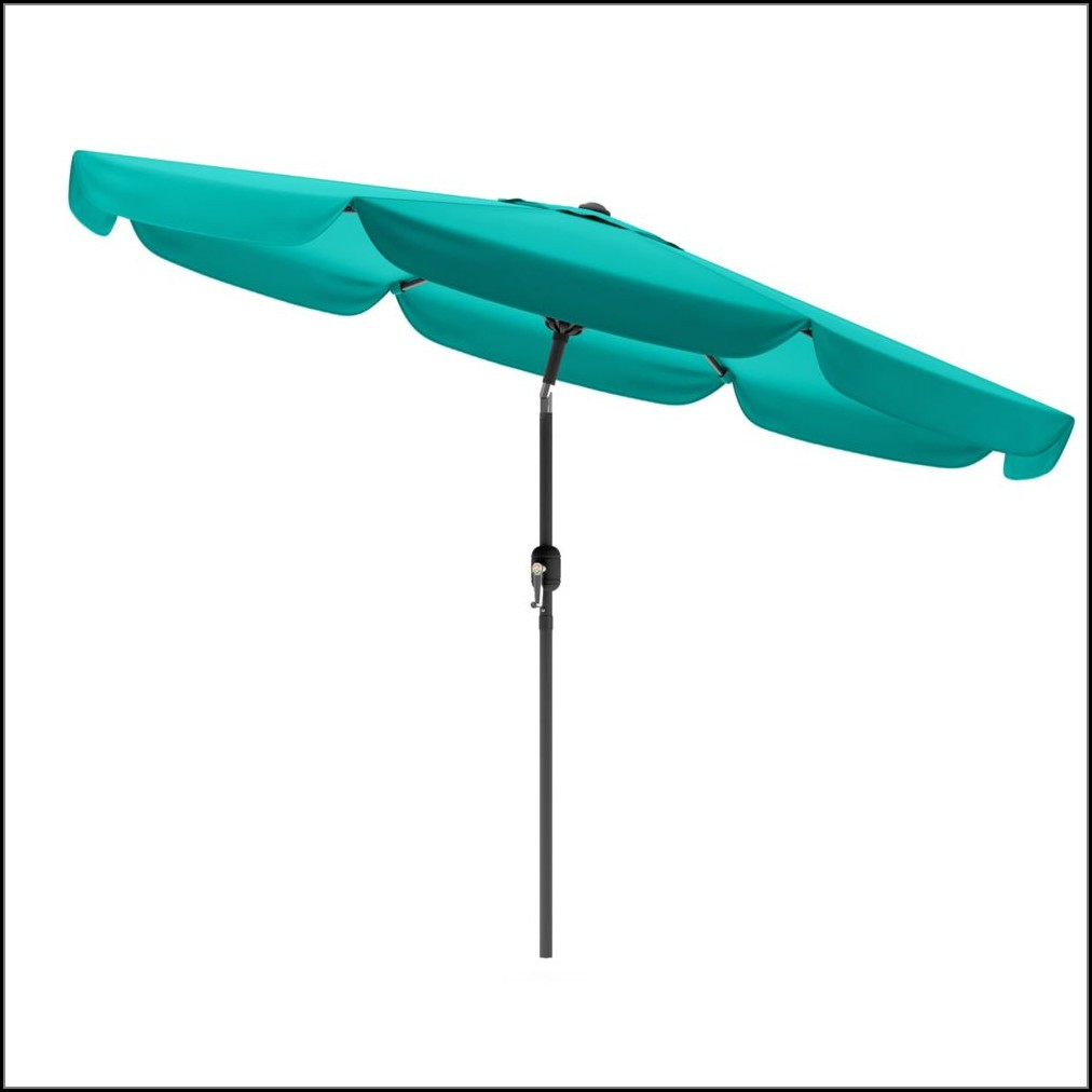 Turquoise Blue Patio Umbrella