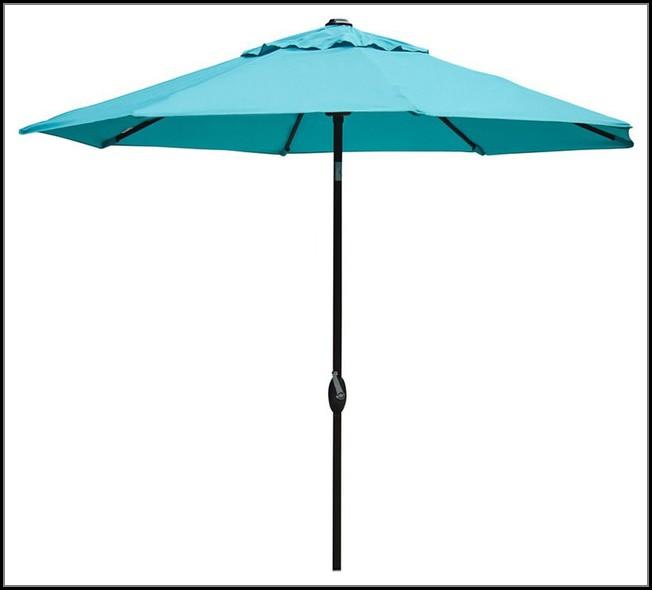 Turquoise Outdoor Patio Umbrella