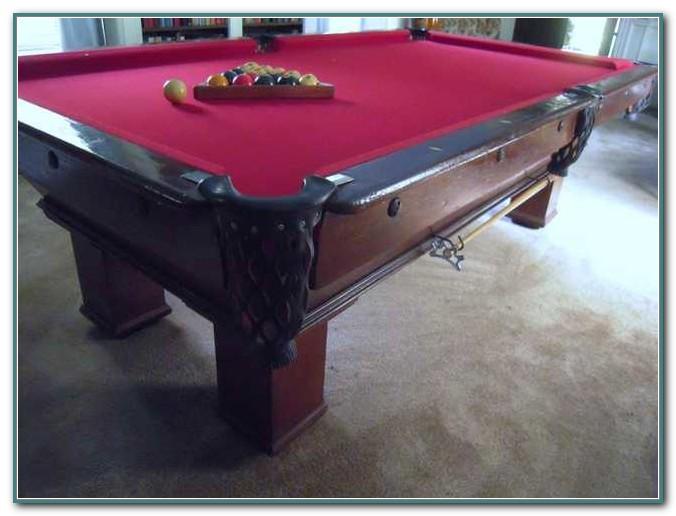 Used Brunswick Slate Pool Table