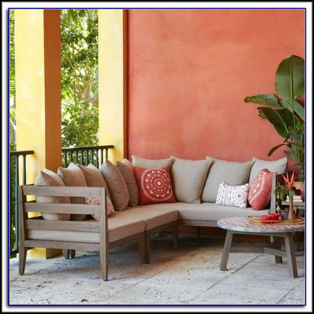 West Elm Wicker Patio Furniture