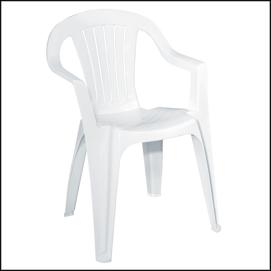 White Plastic Patio Chairs Stackable