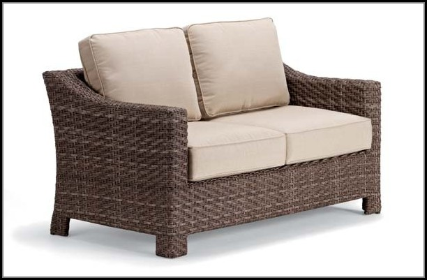 Wicker Loveseat Patio Furniture