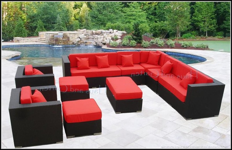 Wicker Patio Sectional Furniture