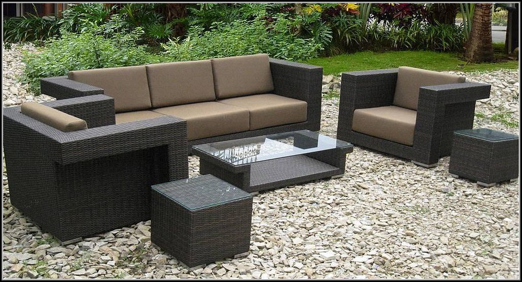 Wicker Resin Patio Furniture Sets