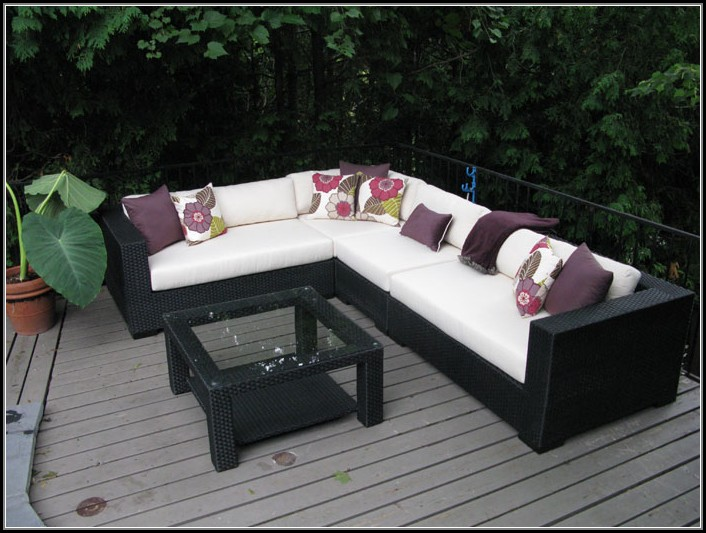 Wicker Sectional Patio Furniture