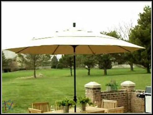 Wind Resistant Patio Umbrella 11