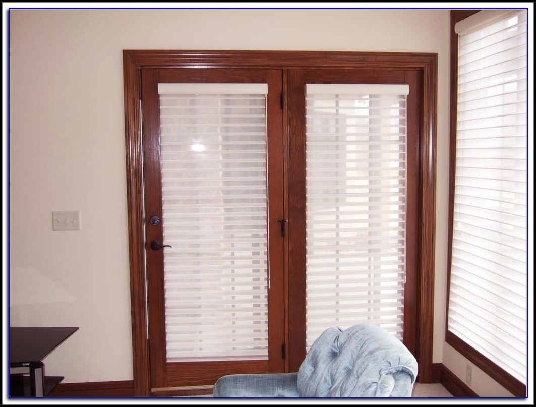 Window Treatments For Patio Doors With Transom