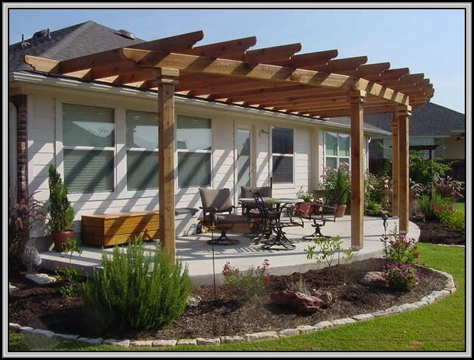 Wood Patio Awning Ideas