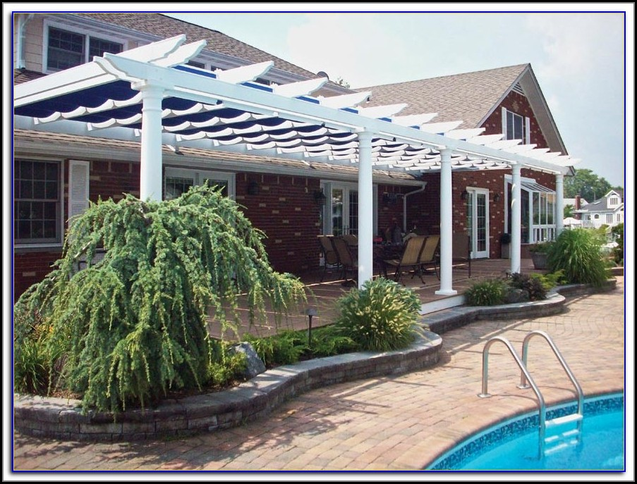 Wood Patio Awning Kits