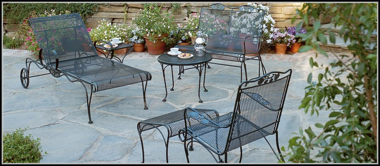 Woodard Briarwood Wrought Iron Patio Furniture