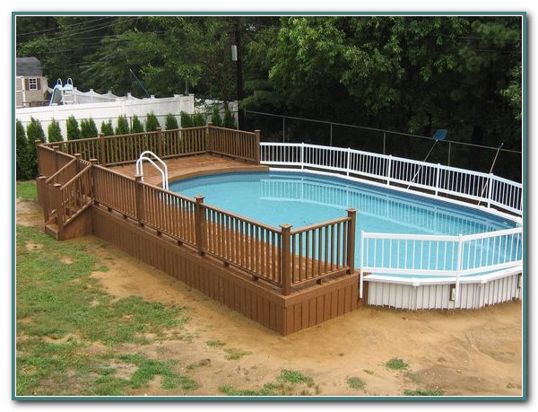 Wooden Decks For Above Ground Pools